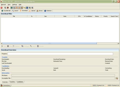 Phex: Adware-Free, Spyware-Free, Tweakable Gnuttella P2P